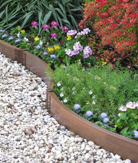Бордюры из бетона для клумбы купить смеси бетонные марка водонепроницаемость